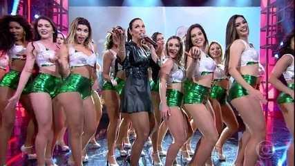 Ivete Sangalo canta seu novo sucesso 'À Vontade'
