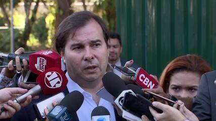 Maia diz que governo não tem hoje o número de votos para aprovar reforma da Previdência