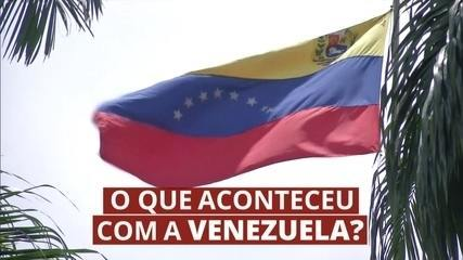 O que aconteceu com a Venezuela?
