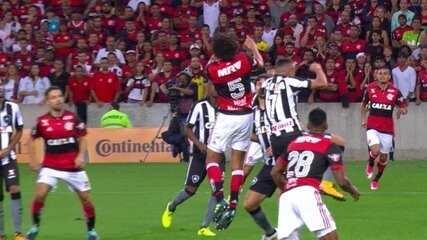 Melhores momentos de Flamengo 1 x 0 Botafogo pela semifinal da Copa do Brasil