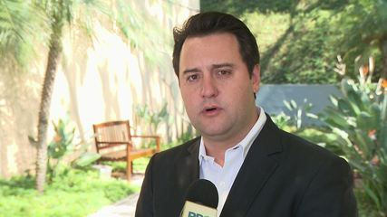 Ratinho Júnior diz que licitação não foi consolidada e dinheiro não chegou a ser liberado