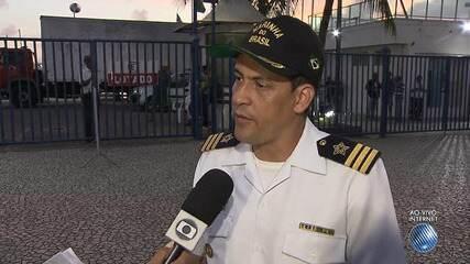 Capitão da Marinha fala sobre possíveis causas de naufrágio em Mar Grande