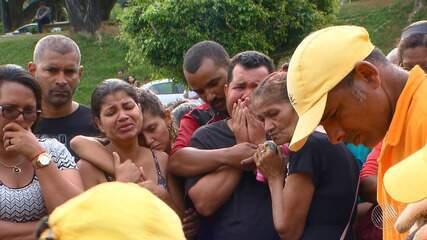 Sexta (25) é marcada por enterro de vítimas da tragédia na Baía de Todos-os-Santos