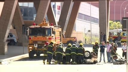 Duas pessoas morrem em um acidente no aeroporto de Viracopos, em Campinas