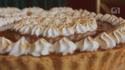 Culinária #013: Aprenda a fazer uma torta de caramelo e doce de leite