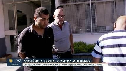 Homem acusado de abusar sexualmente de mulheres está preso