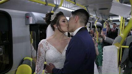 Casamento no busão?