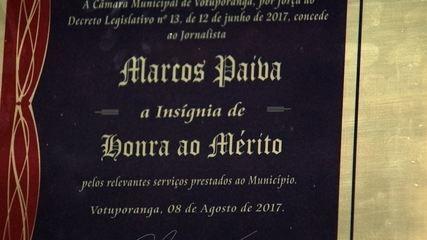 Homenagem Marcão