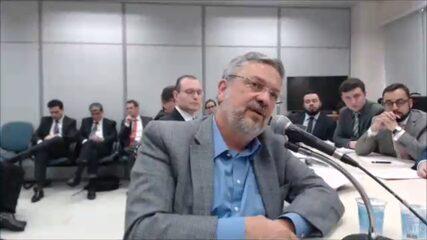 Palocci narra reunião para direcionar dinheiro de contratos da Petrobras