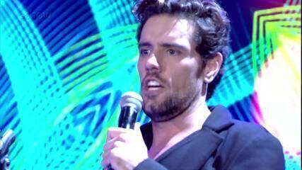 Thiago Arancam canta 'Delirio', música que fez para Paula Fernandes