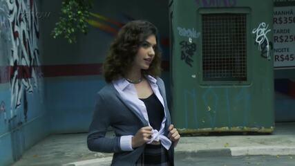 Giovanna Grigio mostra os bastidores da gravação do clipe de Os Lagostins