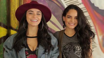 Carol Macedo e Talita Younan mostram looks para curtir o Rock in Rio