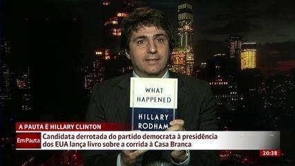 Hillary Clinton lança livro sobre a corrida à Casa Branca