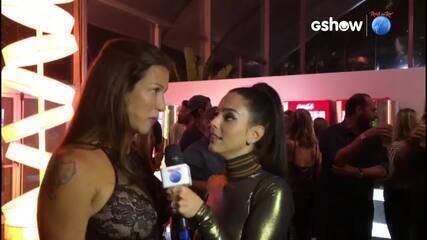 Luana Piovani fala sobre o look dela e de Pedro Scooby para o Rock In Rio