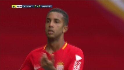 Com saudade, torcedor do Flamengo? Jorge faz bela jogada para o Mônaco no Francês
