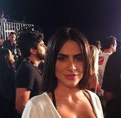 Cleo Pires curte show de Fergie e Pabllo Vittar no Rock in Rio