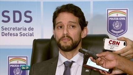 Secretário de Defesa Social fala sobre tiroteio que atingiu jornalista da TV Asa Branca