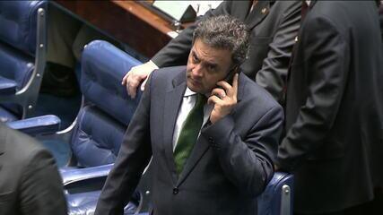 Após 1ª Turma do STF afastar Aécio, Marco Aurélio diz que Senado pode rever decisão