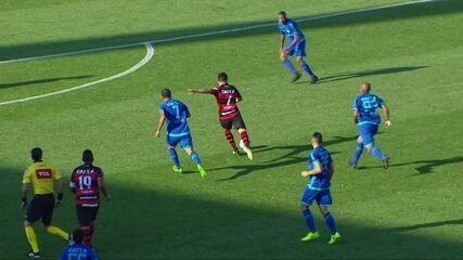 Veja os melhores momentos do jogo entre Avaí e Atlético-GO