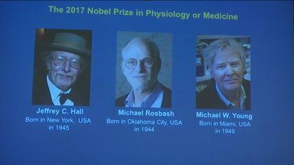 Três americanos dividem o Nobel de Medicina