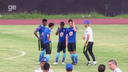 Na véspera da estreia no Mundial, Vinicius Jr. ainda é assunto na Seleção sub-17
