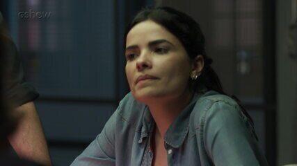 Teaser 'Pega Pega' 10/10: Antônia percebe que ladrões estão protegendo alguém