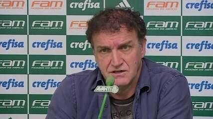 Confira o pronunciamento de despedida do técnico Cuca do Palmeiras