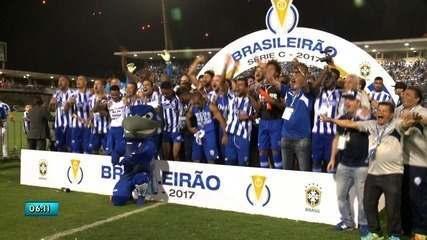 CSA empata com o Fortaleza e conquista título brasileiro