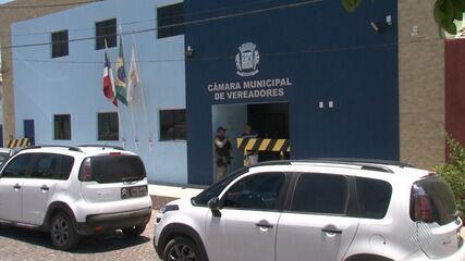 Cinco vereadores de Correntina são presos acusados de desvio de dinheiro público