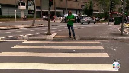Pedestres e ciclistas que não obedecerem o código de trânsito podem ser multados em 2018