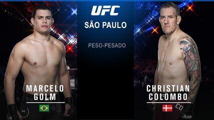 UFC São Paulo: Brunson x Machida - Marcelo Golm x Christian Colombo