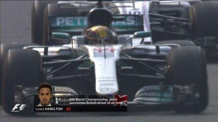Última volta do GP do México