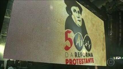 Fiéis de todo o Brasil comemoram os 500 anos da Reforma Protestante