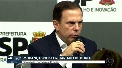 João Doria anuncia mudanças no secretariado