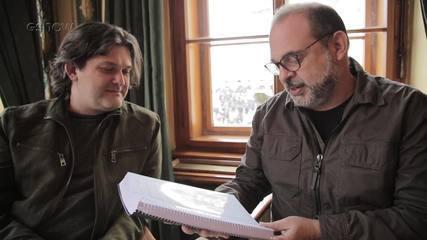 Alexandre de Faria e Fabrício Mamberti falam sobre trilha sonora de 'Deus Salve o Rei'