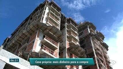 Caixa Econômica vai liberar créditos para quem ganha até R$ 4 mil comprar casa própria