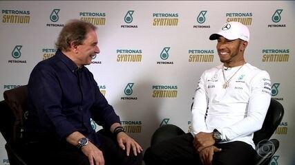 Lewis Hamilton afirma que está mais consistente e completo do que nunca