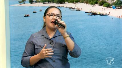 Círio 2017: Cantora Adria Goes presta homenagem a Nossa Senhora da Conceição