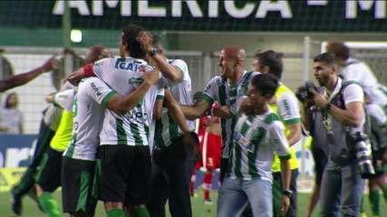 América-MG vence CRB e é campeão da Série B do Brasileirão
