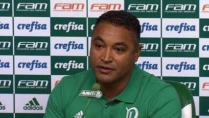 Veja a íntegra da entrevista de apresentação do técnico do Palmeiras, Roger Machado