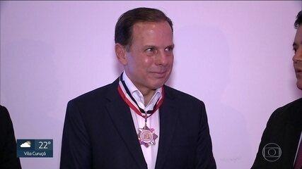 João Doria está no Rio de Janeiro, em sua 43ª viagem como prefeito
