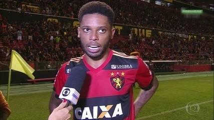 André faz a diferença, Sport vence Corinthians e jogador comemora melhor fase da carreira
