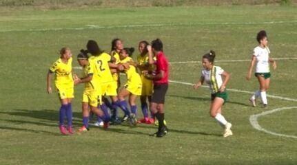 Tiradentes-PI goleia Abelhas na ida da final da Copa Piauí e fica com uma mão na taça