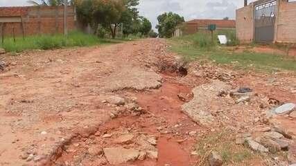 Condições de ruas em Araçatuba causam transtornos aos moradores