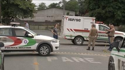 Homem é executado com 13 tiros em Joinville