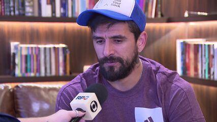 Lucho González conta sua versão e nega tentativa de homicídio contra a esposa