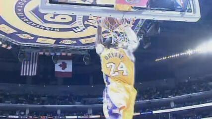 Grandes momentos de Kobe Bryant com a camisa 24 do Los Angeles Lakers