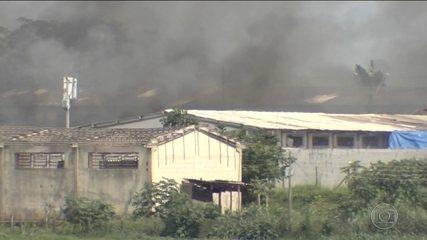 Rebelião no complexo prisional de Aparecida de Goiânia deixa mortos