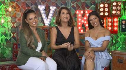 Simone e Simaria conversam com Thalita Rebouças sobre a expectativas para o The Voice Kids