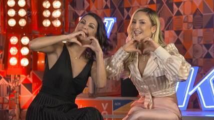 Claudia Leitte conversa com Thalita Rebouças sobre a expectativas para o The Voice Kids